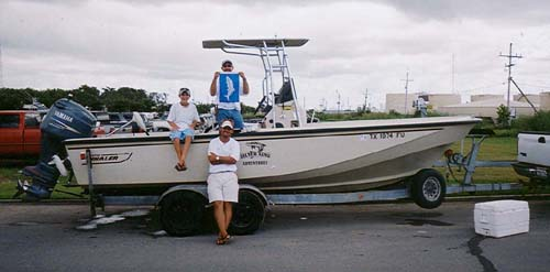 Silver king adventures baytown big games fishing houston for Deep sea fishing houston